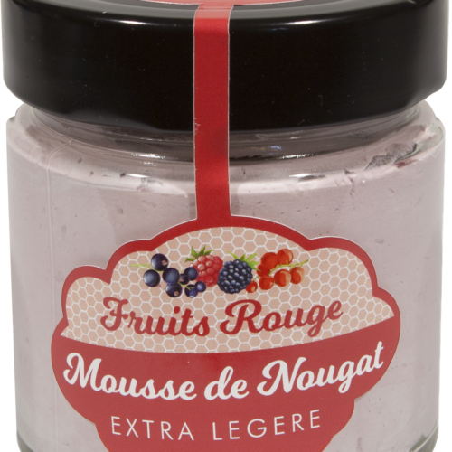 Mousse De Nougat Fruits Rouge